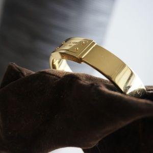 Michael Kors Jewelry - Michael Kors Gold Bangle Bracelet
